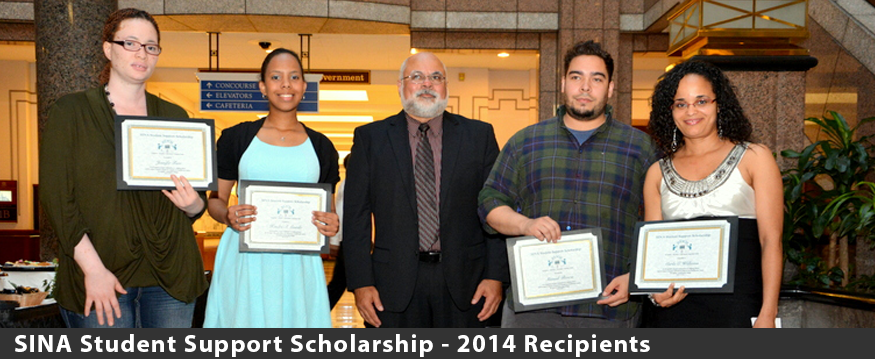 2014 SINA Student Support Scholarship