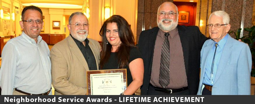 Ivette Quiros Lifetime Achievement award