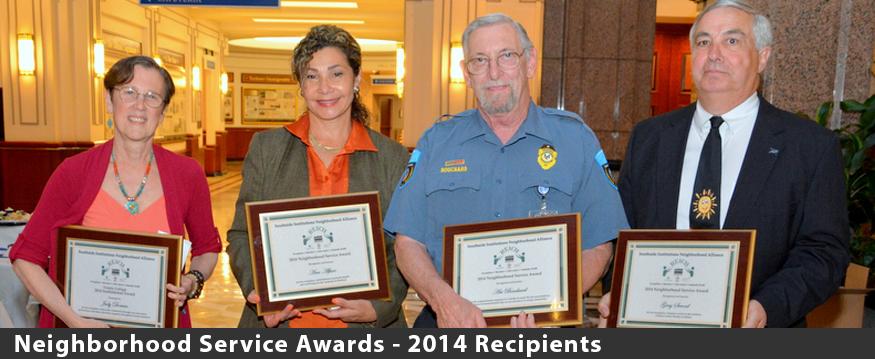 2014 Neighborhood Service Awards