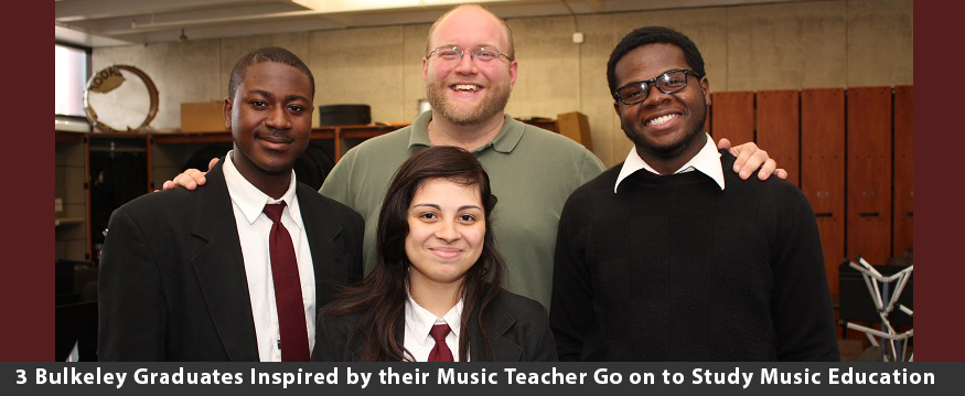 Bulkeley Graduates Inspired by their Music Teacher