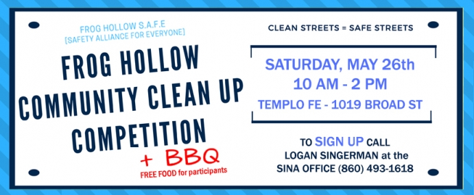 Frog Hollow Community Clean Up Competition