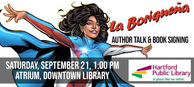 La Boriquena: Author Talk & Book Signing